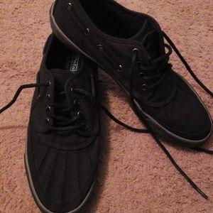 Polo canvas shoes mens sz 11d